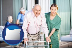 or nursing care in a nursing home