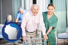 wisconsin nursing care in a nursing home