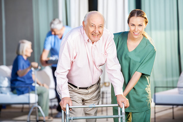 nursing care in a nursing home